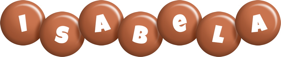 Isabela candy-brown logo