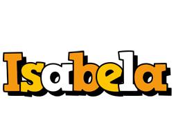 Isabela cartoon logo