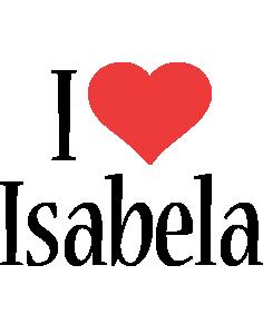 Isabela i-love logo