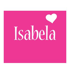 Isabela love-heart logo