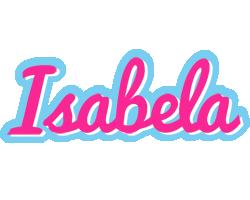 Isabela popstar logo