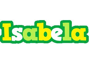 Isabela soccer logo