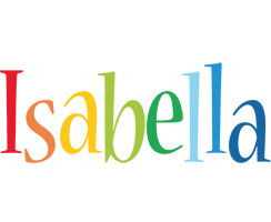 Isabella birthday logo