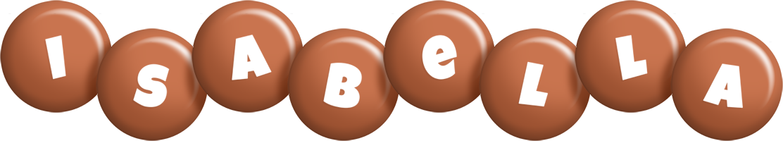Isabella candy-brown logo