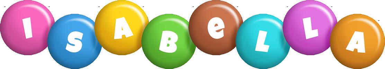 Isabella candy logo