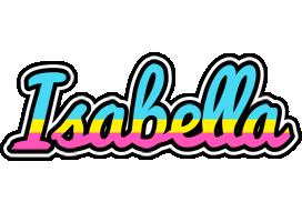 Isabella circus logo