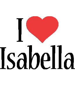 Isabella i-love logo
