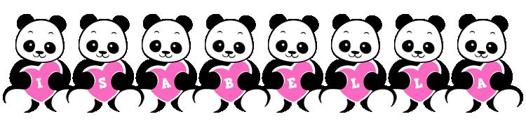 Isabella love-panda logo