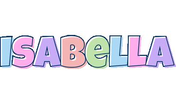 Isabella pastel logo