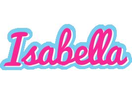 Isabella popstar logo