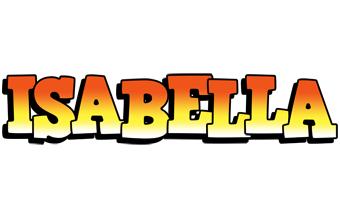 Isabella sunset logo