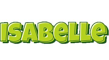 Isabelle summer logo
