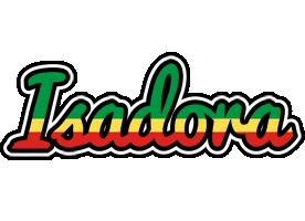 Isadora african logo