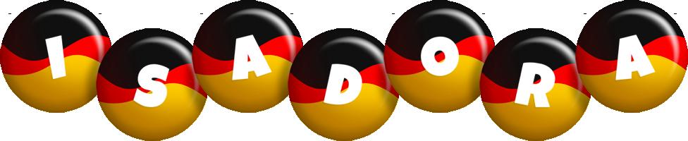 Isadora german logo