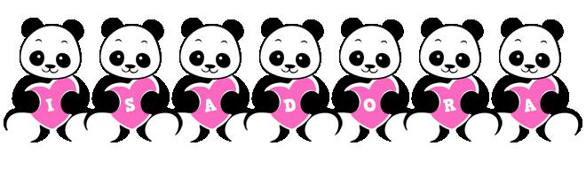 Isadora love-panda logo