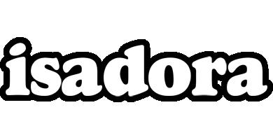 Isadora panda logo