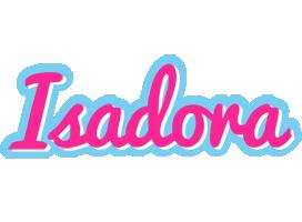 Isadora popstar logo