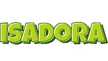 Isadora summer logo