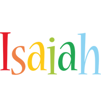Isaiah birthday logo