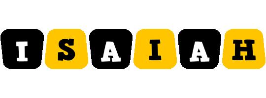 Isaiah boots logo