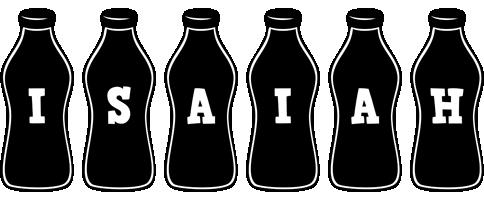 Isaiah bottle logo