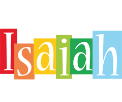 Isaiah colors logo