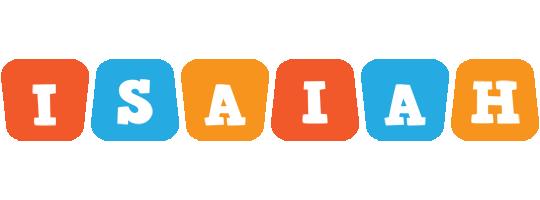 Isaiah comics logo