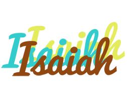 Isaiah cupcake logo