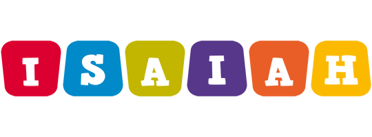 Isaiah daycare logo