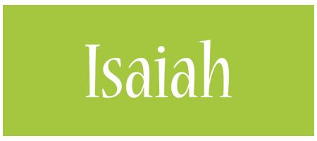 Isaiah family logo
