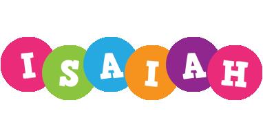 Isaiah friends logo