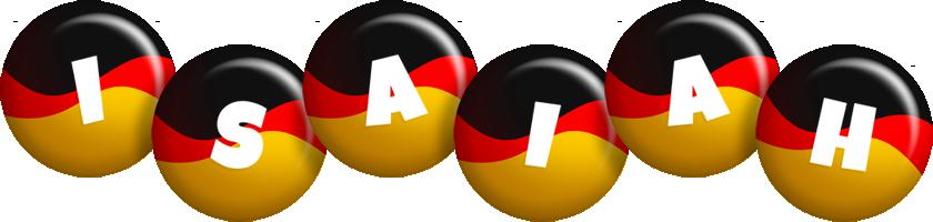 Isaiah german logo