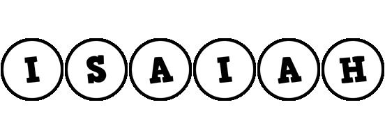 Isaiah handy logo