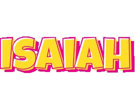 Isaiah kaboom logo