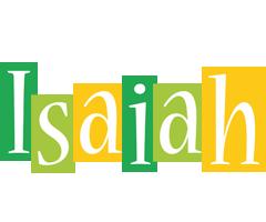 Isaiah lemonade logo