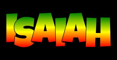 Isaiah mango logo