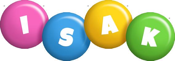 Isak candy logo
