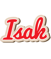 Isak chocolate logo