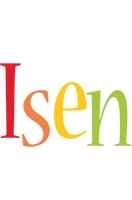 Isen birthday logo