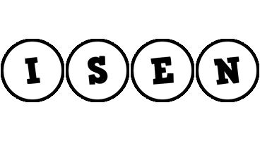 Isen handy logo
