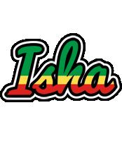 Isha african logo