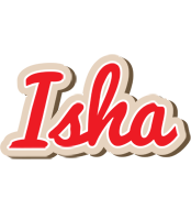 Isha chocolate logo
