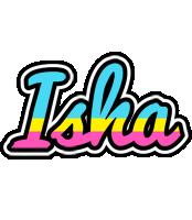 Isha circus logo