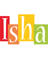 Isha colors logo