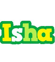 Isha soccer logo