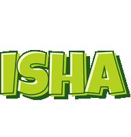 Isha summer logo