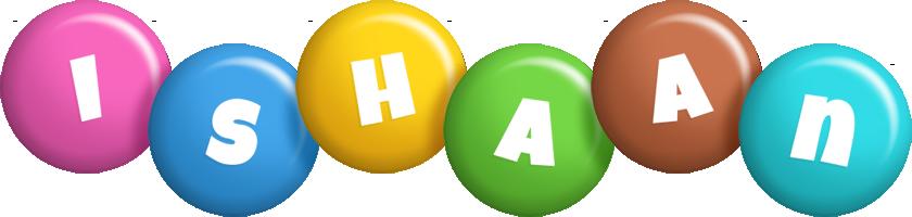 Ishaan candy logo