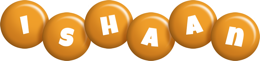 Ishaan candy-orange logo
