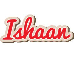 Ishaan chocolate logo