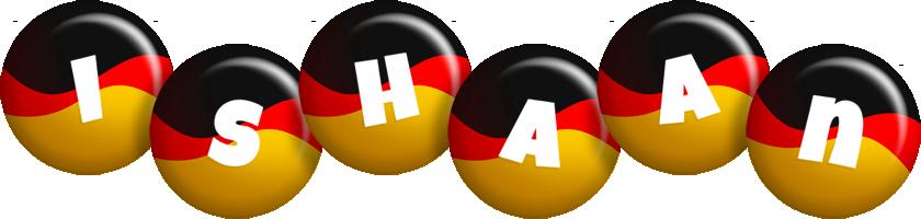 Ishaan german logo